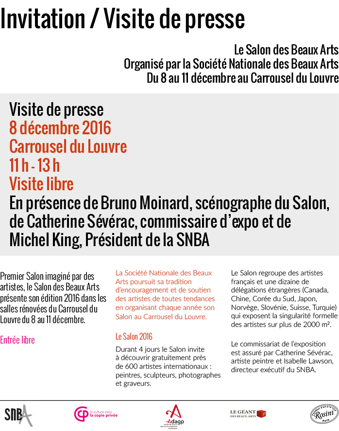 Salon des Beaux Arts 2016 – MES PETITES MAINS